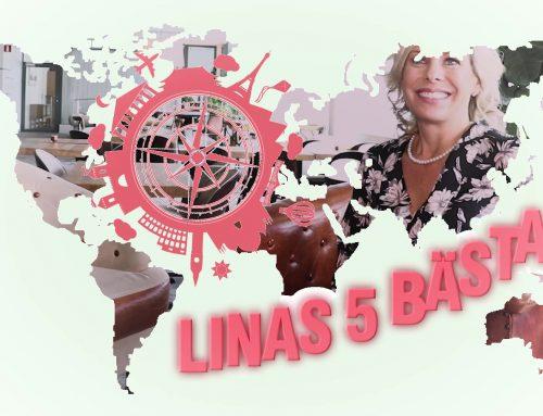 Linas 5 bästa (juni)