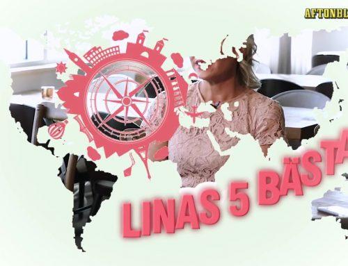 Linas 5 bästa (Augusti)